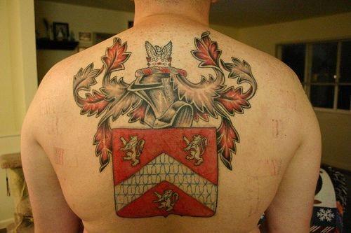 Back tattoo 544