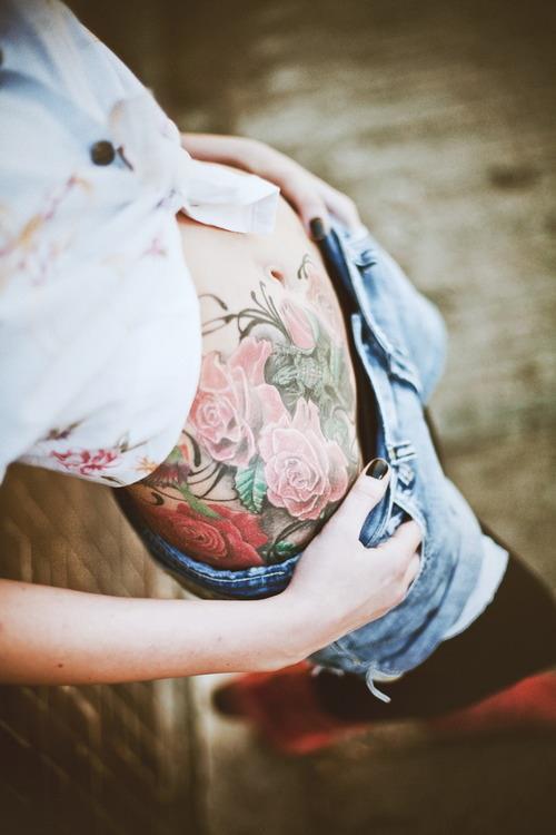 Belly Tattoo 54