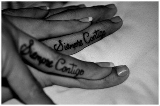 Connu 54 Tatuaggi per mostrare affetto e amore eterno PA65