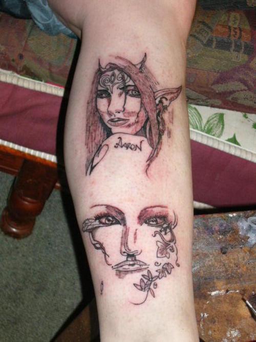 Elf tattoo 12