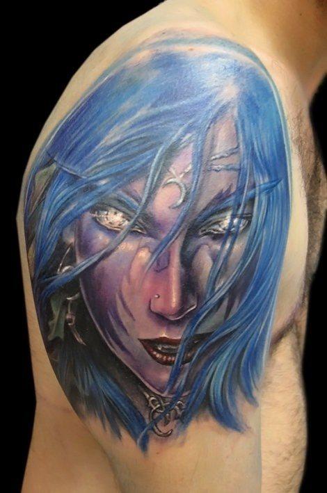 Elf tattoo 13