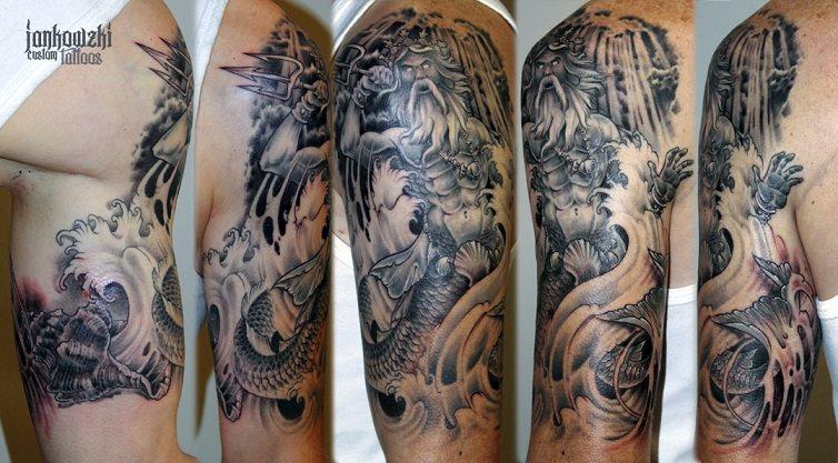 47 tatuaggi greci e di origine ellenico - Mitologia greca mitologia cavallo uomo ...