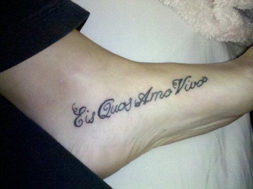 49 Tatuaggi Di Frasi E Parole In Latino