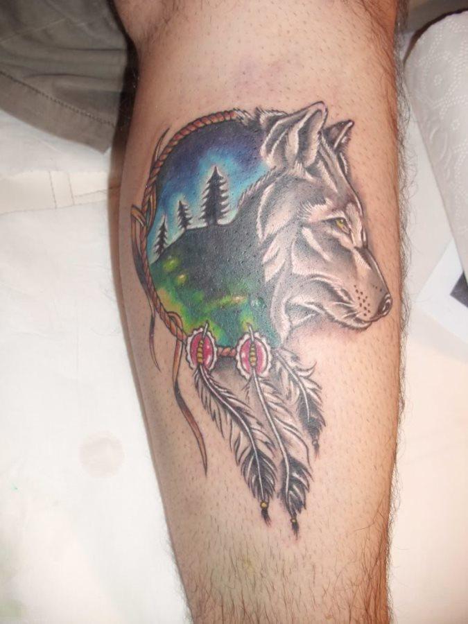 Tatuaggi Di Lupi 108 Vari Disegni