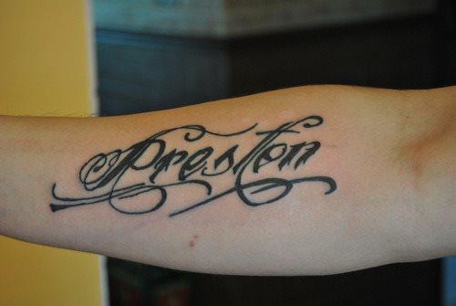 94 tatuaggi di nomi o soprannomi di persone