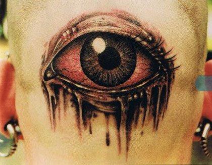 104 Tatuaggi Di Occhi Pupille E Retine