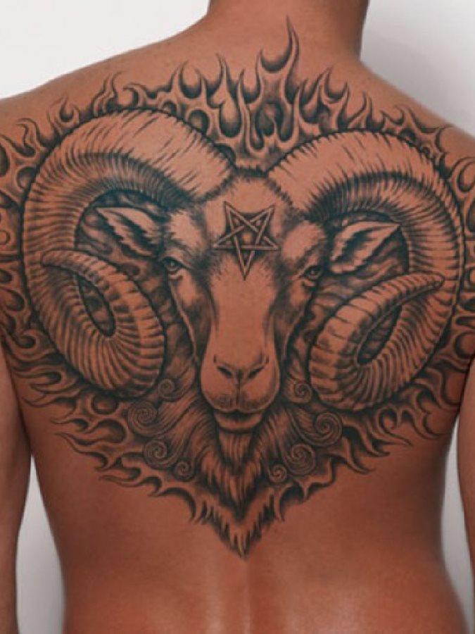 Back tattoo 04