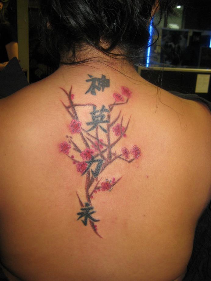 Back tattoo 09