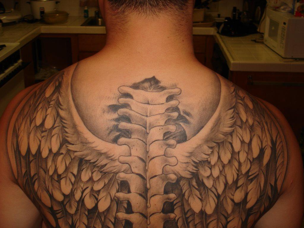 Back tattoo 12