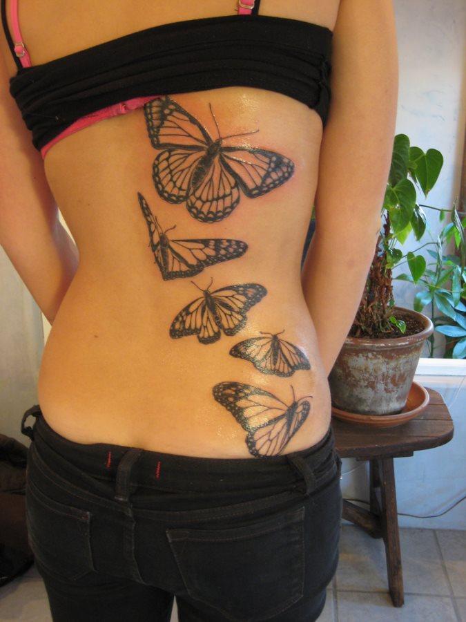 Back tattoo 21