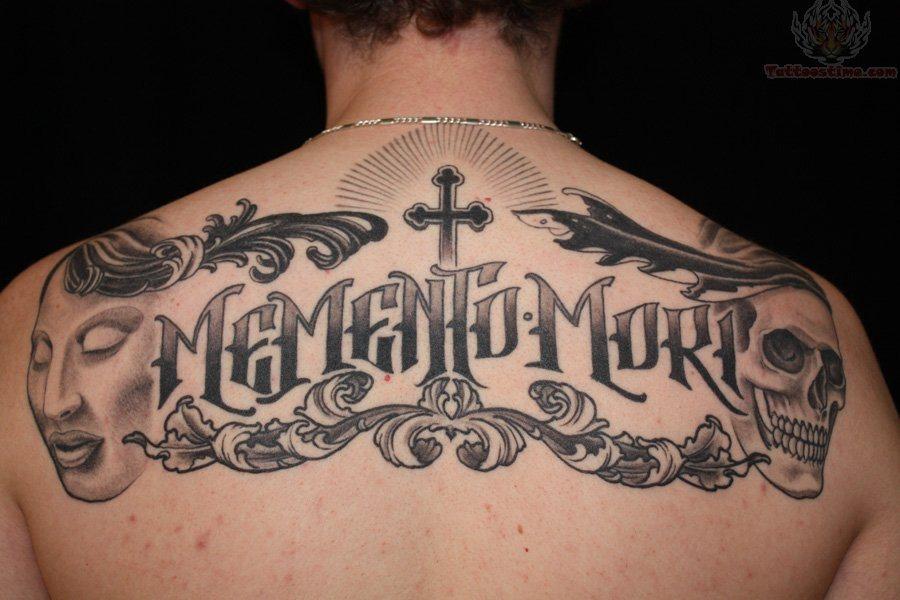 Back tattoo 23