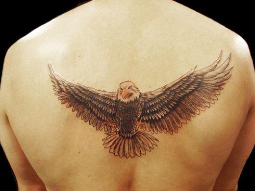Back tattoo 32