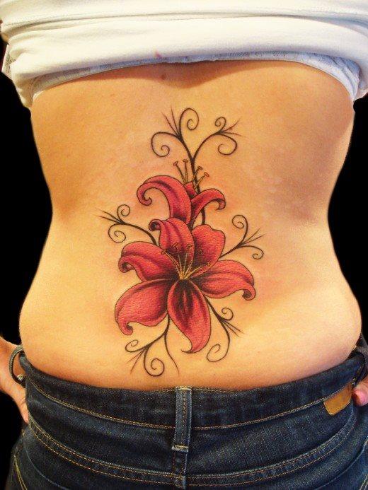 Back tattoo 37