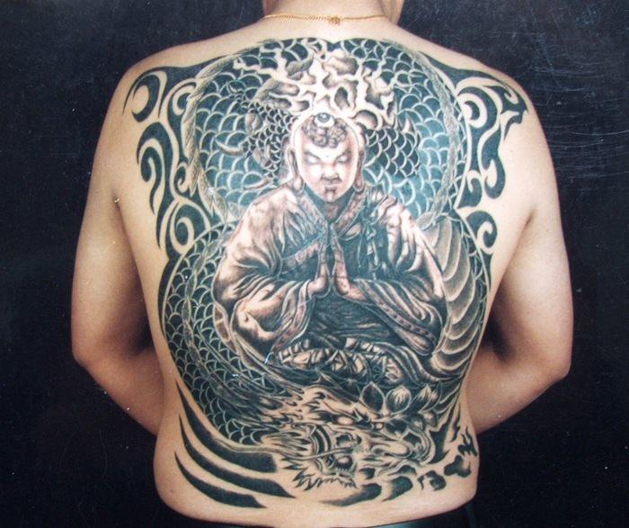 Back tattoo 43