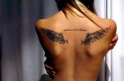 Back tattoo 48