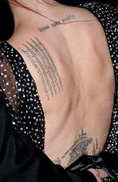 Back tattoo 49