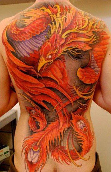 Back tattoo 56