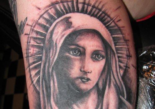 60 tatuaggi e disegni della vergine maria - Mary dei gemelli diversi ...