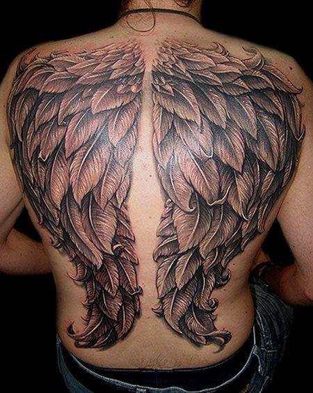 59 Tatuaggi Di Ali D Angelo Galleria Di Immagini