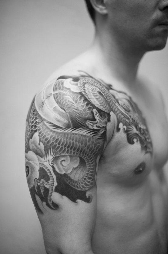 81 Tatuaggi Di Draghi Galleria Di Foto