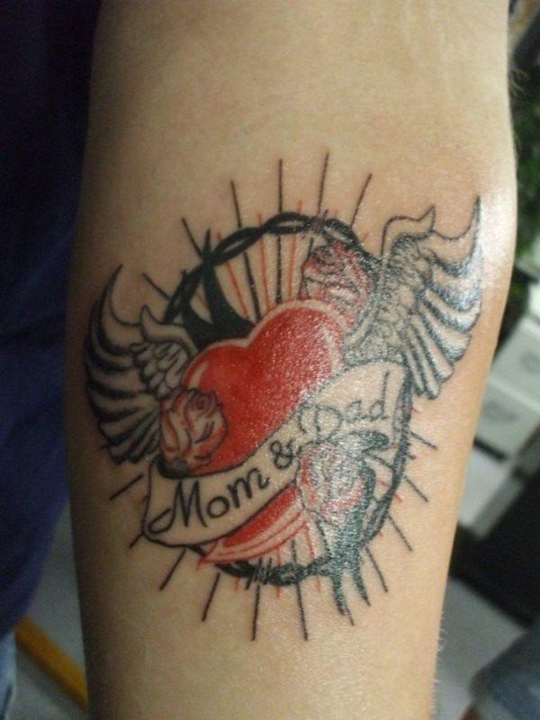 45 Tatuaggi Per Ricordare I Tuoi Genitori Mamme E Papà