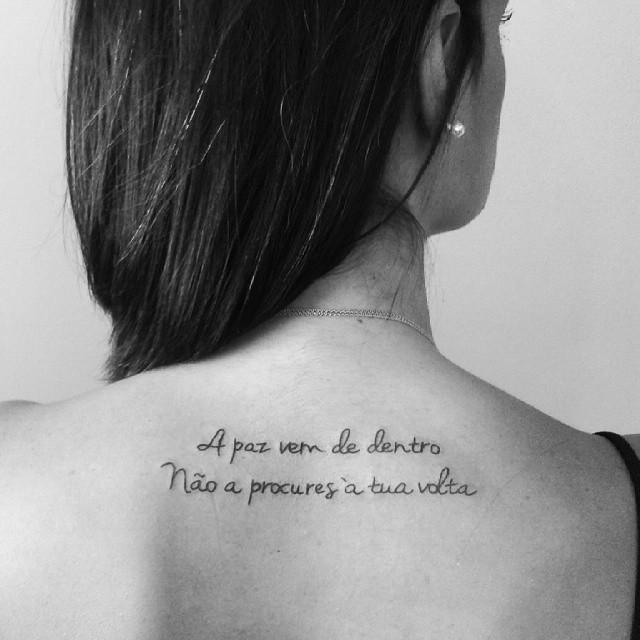 118 Tatuaggi Di Frasi Scritte E Di Parole