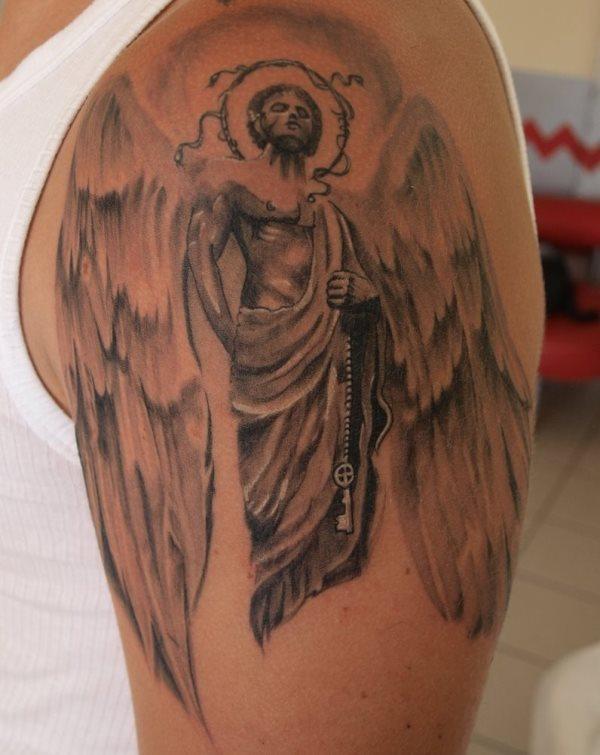 76 Tatuaggi Di Angeli Bella Galleria Di Disegni