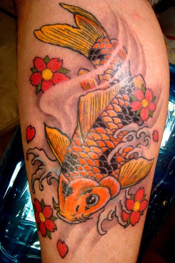 62 Tatuagens Do Peixe Koi Galeria De Fotos