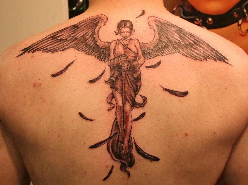 76 Tatuagens De Anjos Galeria De Desenhos Magníficos